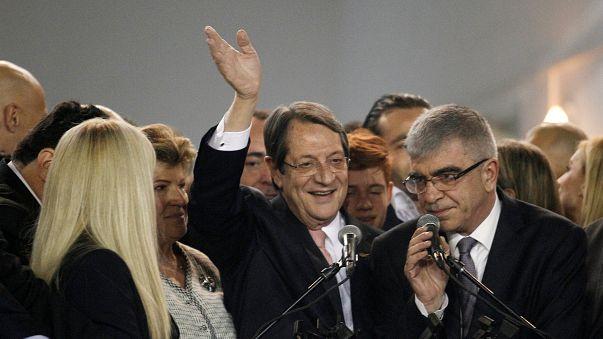 Nicos Anastasiades réélu président de Chypre