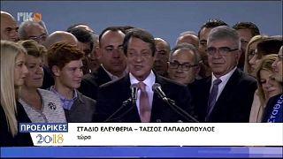 Anastasiades wins Cyprus presidential run-off