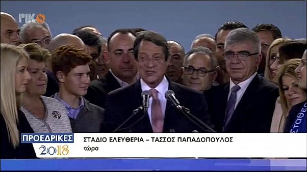 Anastasiades wins Cyprus presidential run-off