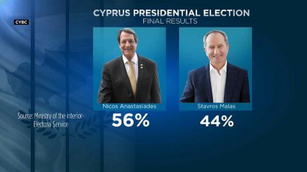 Anasztasziadisz marad az államfő Cipruson