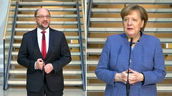 Almanya'da 'büyük koalisyon' umudu sürüyor