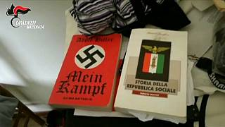 İtalya'da ırkçı saldırının görüntüleri yayınlandı