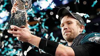 Les Eagles de Philadelphie vainqueurs du Super Bowl, une première!