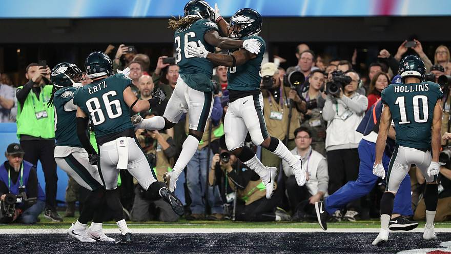 Super Bowl'u kazanan Philadelphia Eagles tarihinde ilk kez şampiyon oldu
