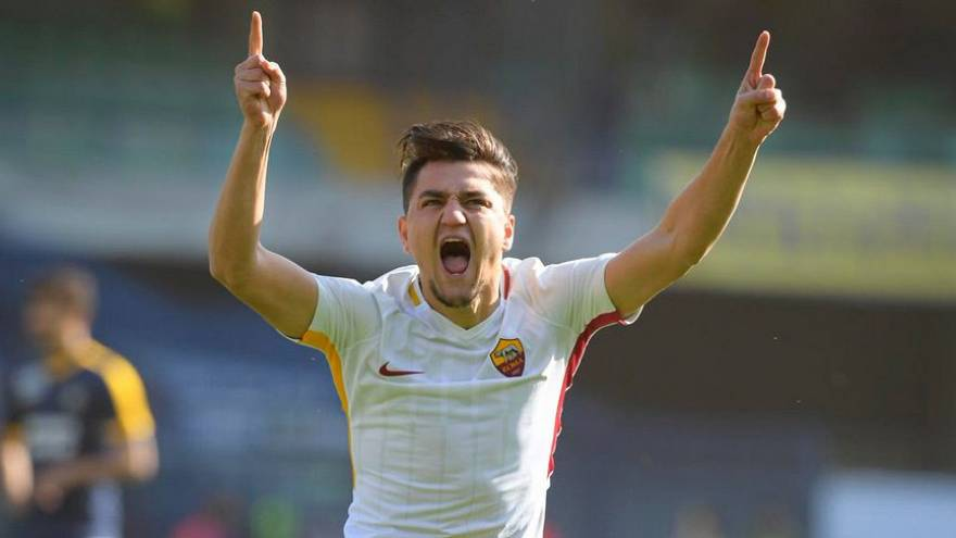 Cengiz Ünder ilk golünü attı Roma tarihine geçti