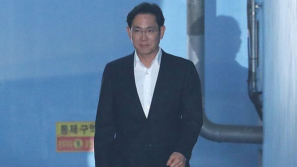 Samsung vice chairman Jae Y Lee leaves court in Seoul