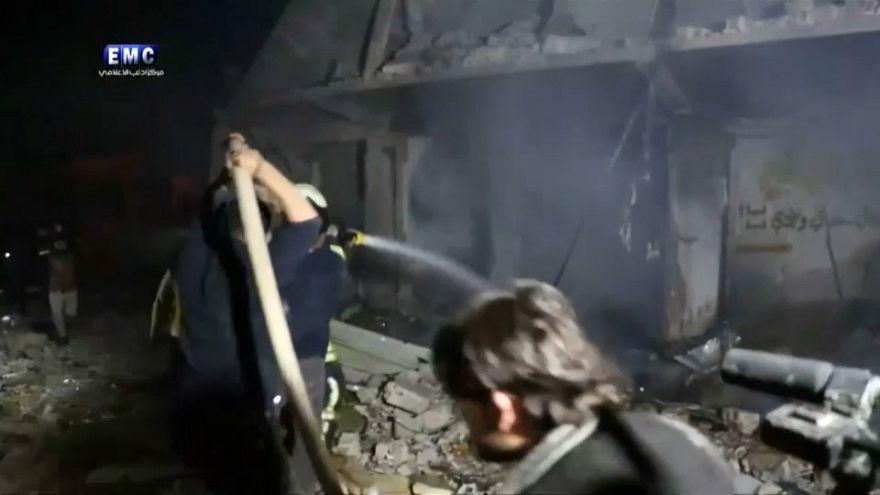 Moscovo intensifica bombardeamentos no noroeste da Síria