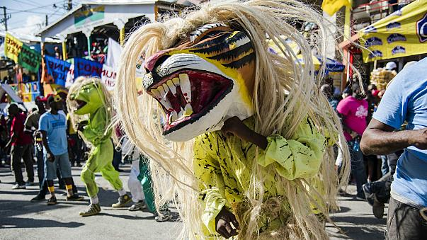 Haitian artists give everything to Jacmel carnival
