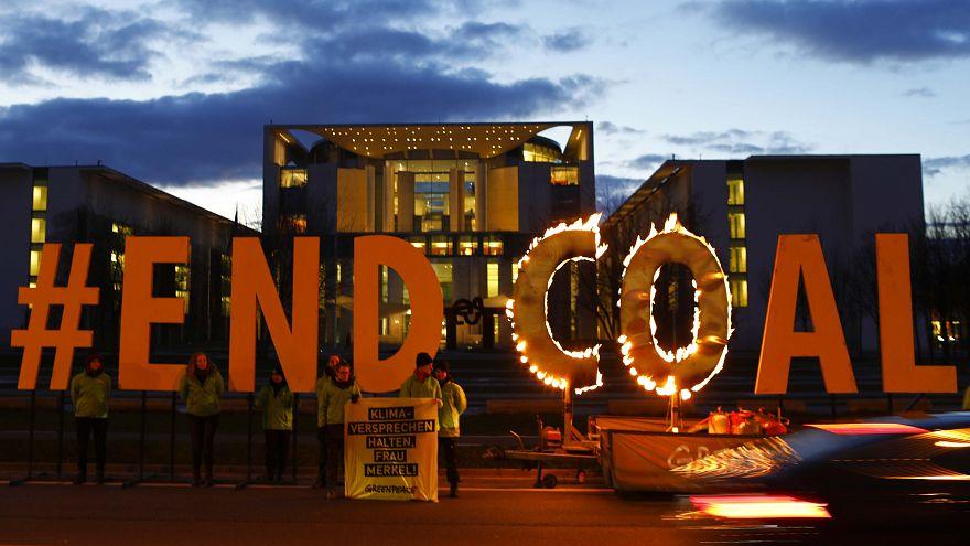 Greenpeace demonstriert für Ende des Kohle-Stroms