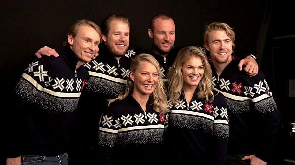استياء في النرويج بسبب سترات فريق التزلج المزركشة برمز للنازية الجديدة