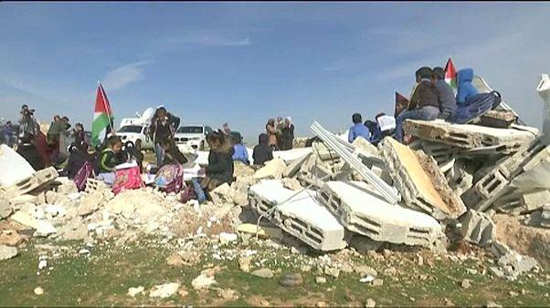 Két termét bontották le a ciszjordániai iskolának