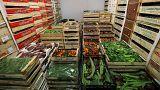 Marktware in London: Weltweit geht ein Drittel aller Lebensmittel verloren.