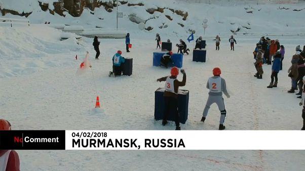 """""""Yukigassen"""": japanisches Spiel in Russland"""