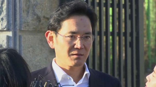 Herdeiro da Samsung libertado