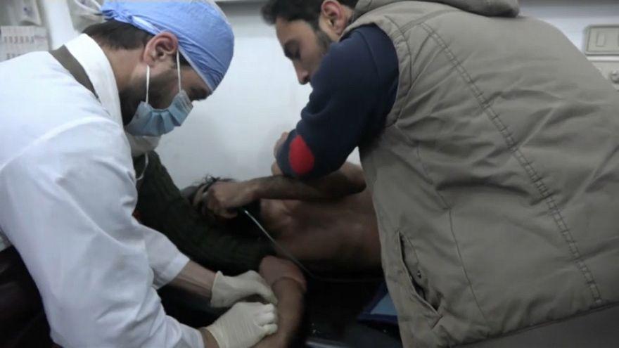 Verletzte im Nordosten von Syrien