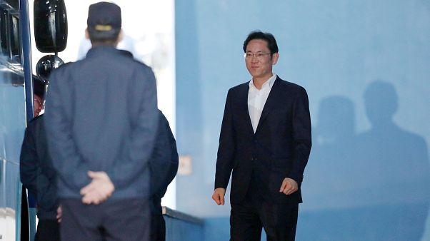 L'héritier de l'empire Samsung libéré
