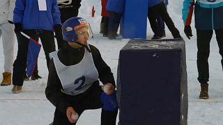 Соревнования по юкигассен в Мурманске