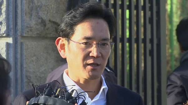 Samsung-Erbe auf Bewährung frei