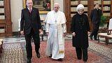 Papst empfängt Erdogan im Vatikan
