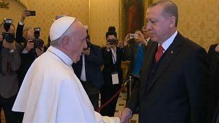 Визит Эрдогана в Ватикан