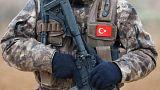 یک عضو نیروی ویژه پلیس ترکیه