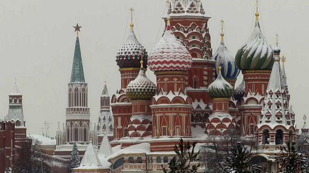 سنگینترین برف شصت سال اخیر، مسکو را سفیدپوش کرد