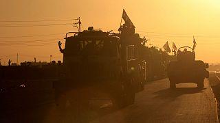 نیروهای دولتی عراق در استان کرکوک