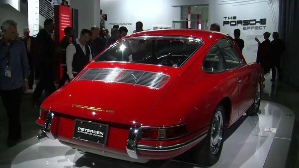 50 Porsche raros em Los Angeles
