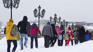 Há mais de 60 anos que não caía tanta neve em Moscovo