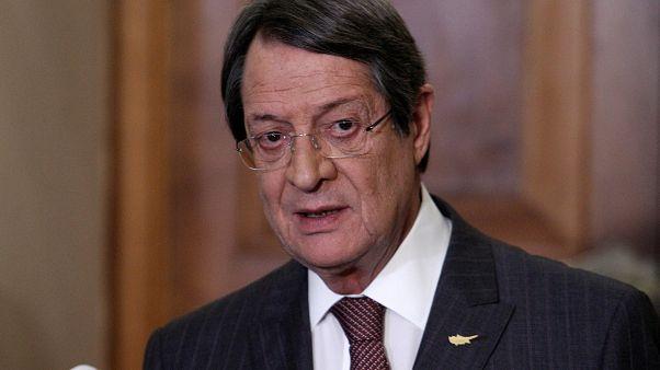 """Anastasiades: """"Observamos o comportamento da Turquia com muita contenção"""""""