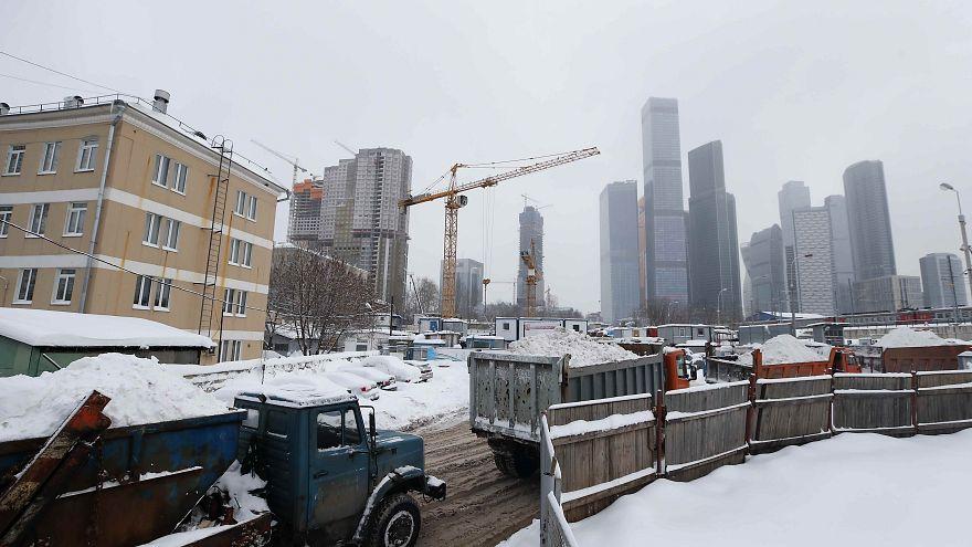 Nevão em Moscovo