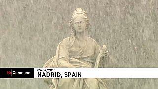 Coup de froid sur la France et l'Espagne