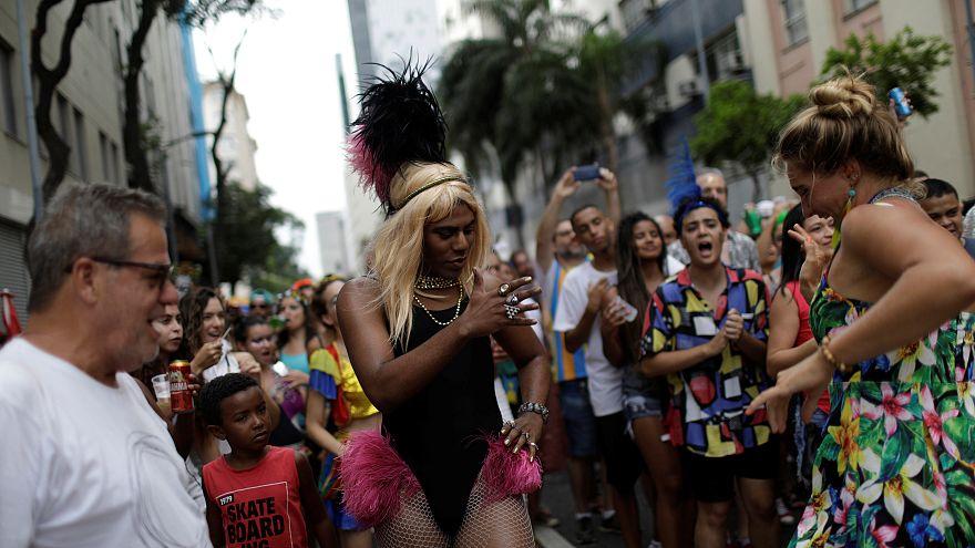 Le Carnaval de Rio fait ses répétitions