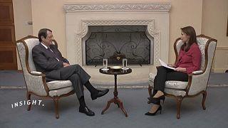 """الرئيس القبرصي ليورونيوز: """"أمد يدي للجميع للتوصل إلى حل للقضية  القبرصية"""""""