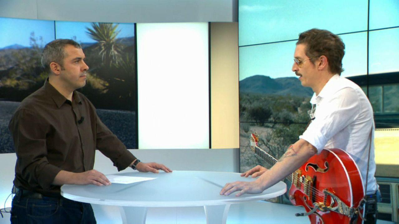 """Paulo Furtado esteve à conversa com a euronews e mostrou-nos """"Misfit"""""""