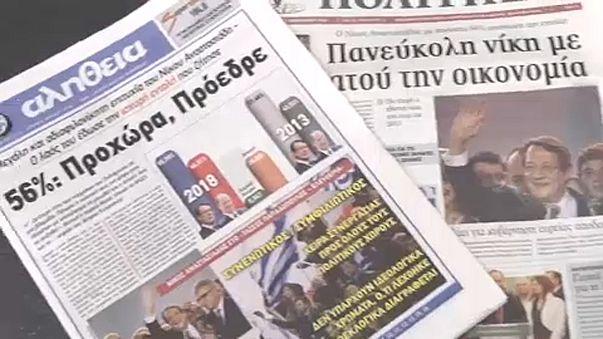 Bizakodók a ciprusiak az elnökválasztás után