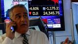 Stock market turmoil: European markets tumble after Dow Jones takes biggest hit since financial crisis