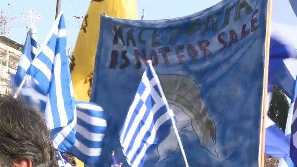 Oposición griega al cambio de nombre de la Antigua República Yugoslava de Macedonia