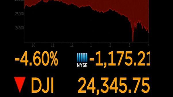 Ημέρα «τρόμου» στη Wall Street - Ελεύθερη πτώση του Dow