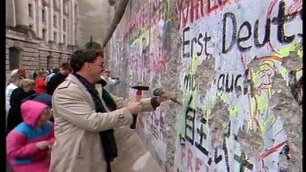 Mauer in Berlin - so lange wie sie stand, ist sie nun weg