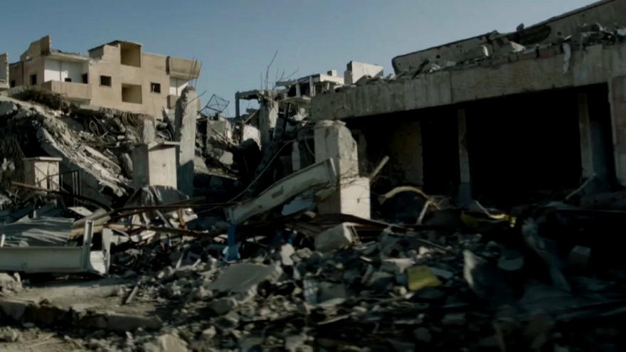 Most of Raqqa lies in ruins after the removal of Islamic State fighters