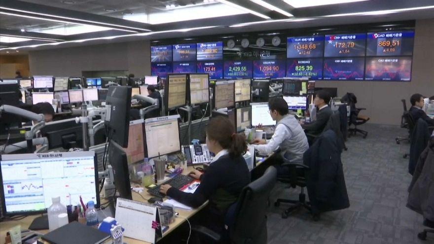 Borse mondiali in rosso dopo il tonfo di Wall Street