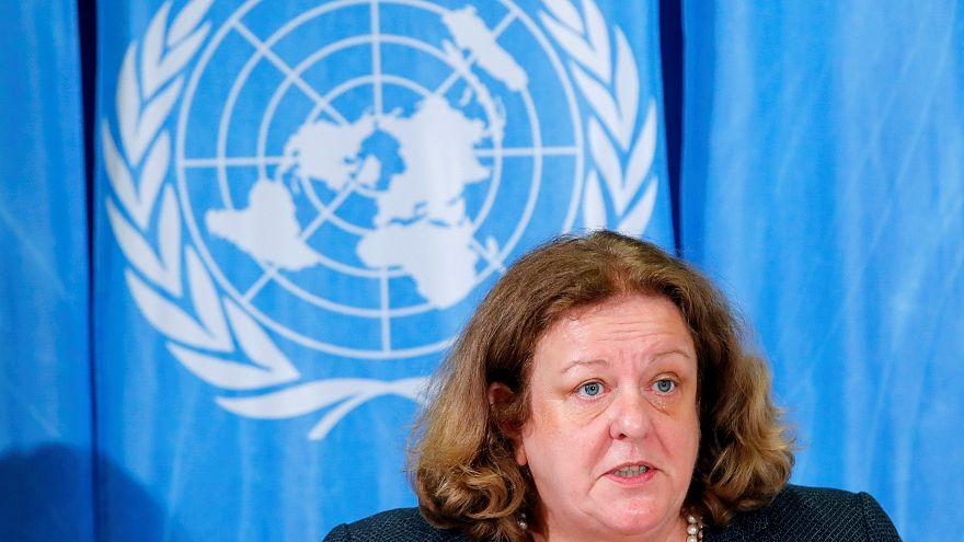 Maria do Valle Ribeiro, coordinatrice degli aiuti umanitari