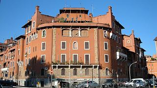 Una casa nel quartiere romano di Garbatella
