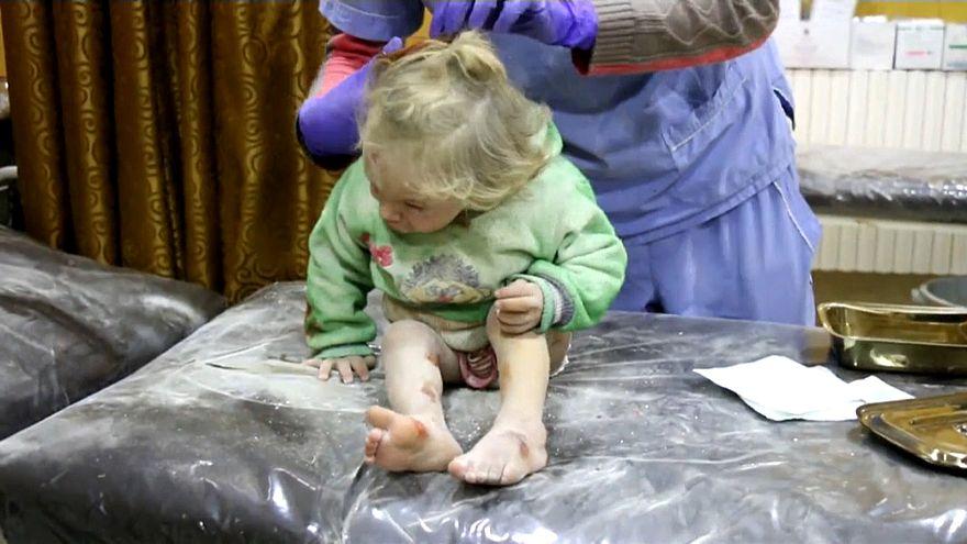 خبراء جرائم الحرب بالأمم المتحدة يحققون في استخدام غاز الكلور بسراقب السورية