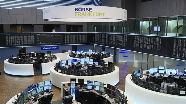 Shares across Europe recover after plunging in early trading