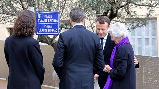 Corse : Macron rend hommage au préfet Erignac