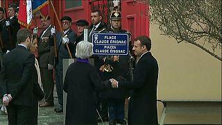 Macron rinde homenaje al prefecto asesinado Claude Érignac