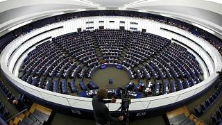 Hémicycle du Parlement européen à Strasbourg