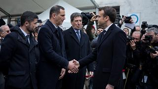 فرانسه؛ سخنرانی ملی گرایانه ماکرون در جمع مقامات جدایی طلب جزیره کُرس